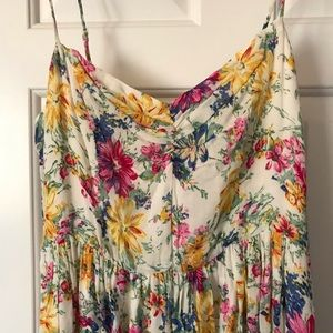 Lucca Couture Dresses - Urban O/Luca couture. floral babydoll dress. Large